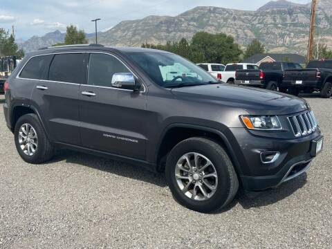 2014 Jeep Grand Cherokee for sale at Shamrock Group LLC #1 in Pleasant Grove UT