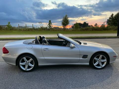 2004 Mercedes-Benz SL-Class for sale at Legacy Motor Sales in Norcross GA