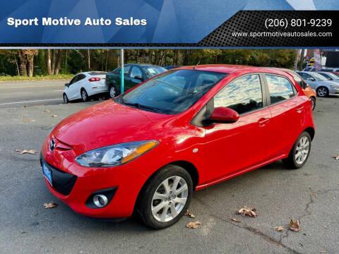2013 Mazda MAZDA2 for sale at Sport Motive Auto Sales in Seattle WA