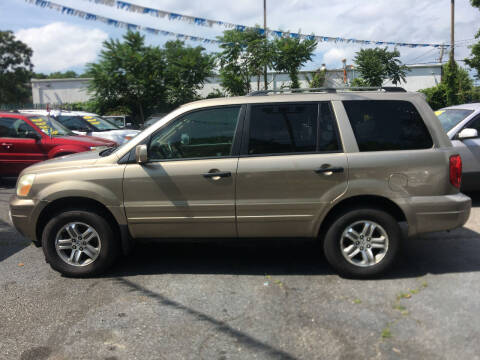 2005 Honda Pilot for sale at King Auto Sales INC in Medford NY