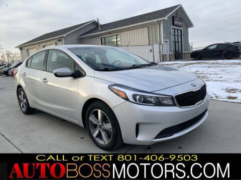 2018 Kia Forte for sale at Auto Boss in Woodscross UT