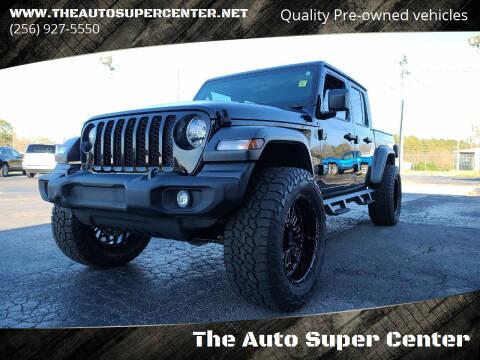 2020 Jeep Gladiator for sale at The Auto Super Center in Centre AL