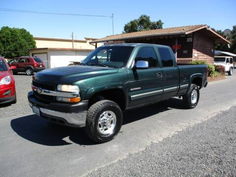 2002 Chevrolet Silverado 2500HD for sale at Manzanita Car Sales in Gridley CA