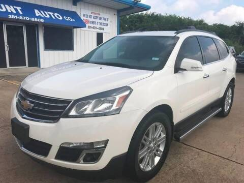2015 Chevrolet Traverse for sale at Discount Auto Company in Houston TX