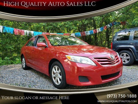 2010 Toyota Camry for sale at High Quality Auto Sales LLC in Bloomingdale NJ