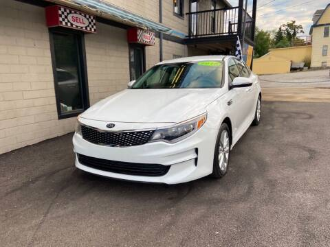 2018 Kia Optima for sale at Sisson Pre-Owned in Uniontown PA
