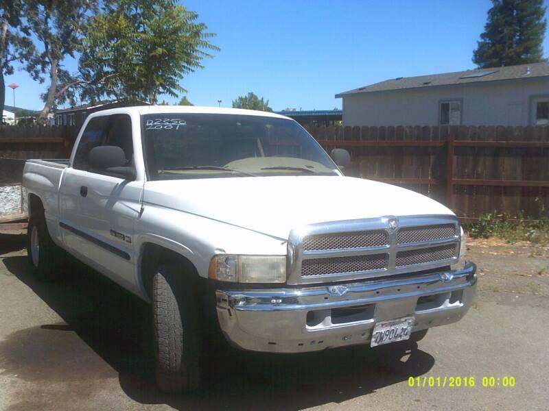 2001 Dodge Ram Pickup 1500 for sale in Ukiah, CA