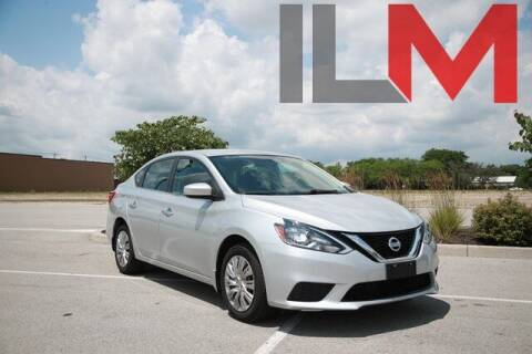 2017 Nissan Sentra for sale at INDY LUXURY MOTORSPORTS in Fishers IN