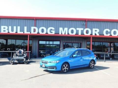 2020 Subaru Impreza for sale at Bulldog Motor Company in Borger TX