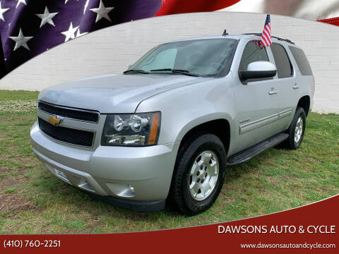 2011 Chevrolet Tahoe for sale at Dawsons Auto & Cycle in Glen Burnie MD