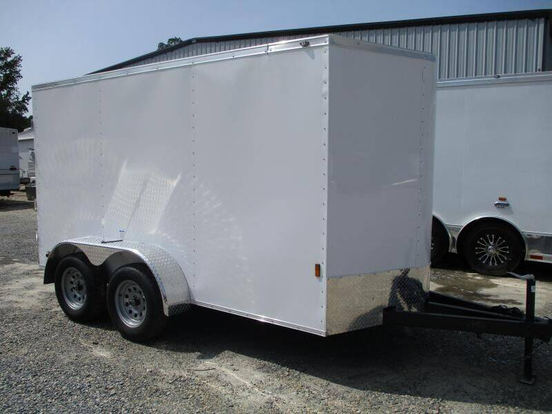 2021 Continental Cargo Sunshine 6x12 Tandem Axle for sale at Vehicle Network - HGR'S Truck and Trailer in Hope Mill NC