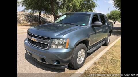 2009 Chevrolet Avalanche for sale at Noble Motors in Tucson AZ