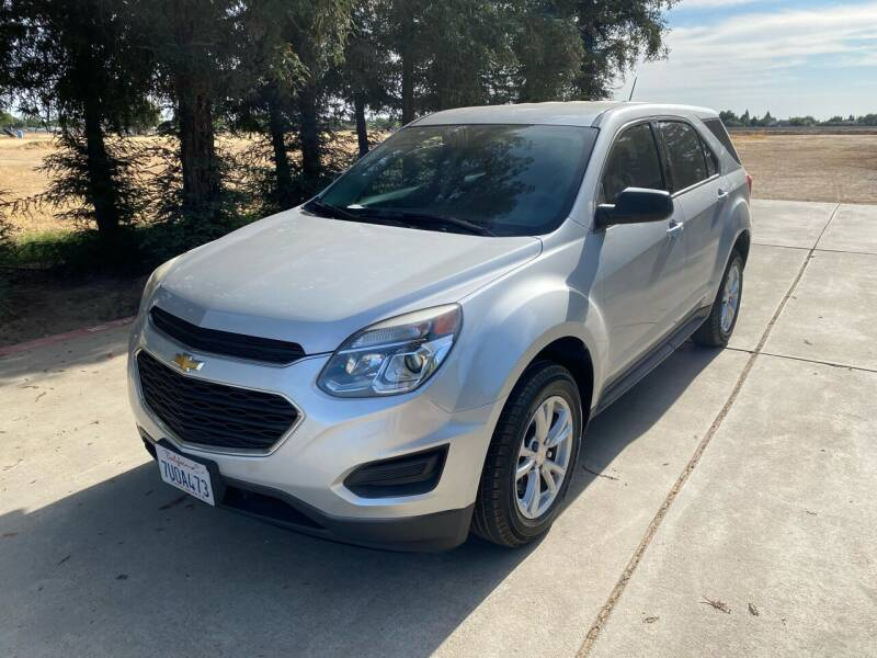 2017 Chevrolet Equinox for sale at Gold Rush Auto Wholesale in Sanger CA