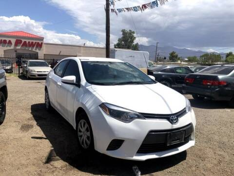 2016 Toyota Corolla for sale at Hotline 4 Auto in Tucson AZ