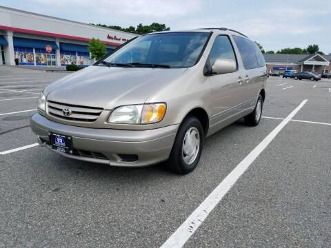2002 Toyota Sienna for sale at B&B Auto LLC in Union NJ
