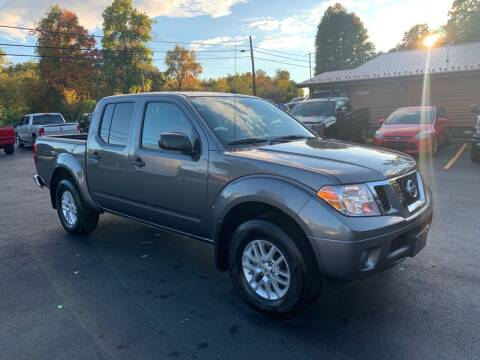 2019 Nissan Frontier for sale at Twin Rocks Auto Sales LLC in Uniontown PA