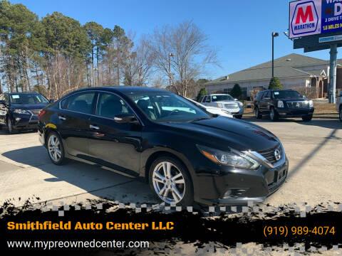 2017 Nissan Altima for sale at Smithfield Auto Center LLC in Smithfield NC