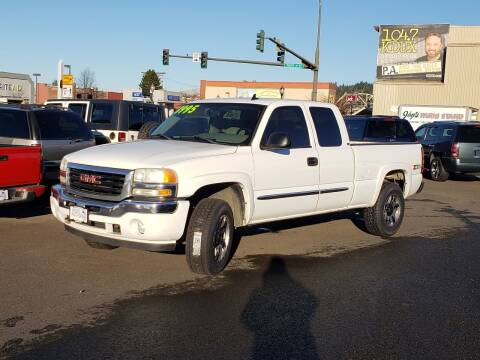2007 GMC Sierra 1500 Classic for sale at Aberdeen Auto Sales in Aberdeen WA