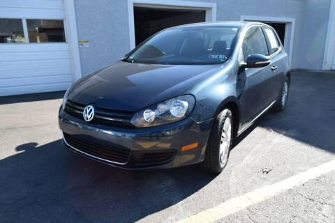 2012 Volkswagen Golf for sale at L&J AUTO SALES in Birdsboro PA