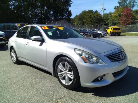 2012 Infiniti G37 Sedan for sale at Import Plus Auto Sales in Norcross GA