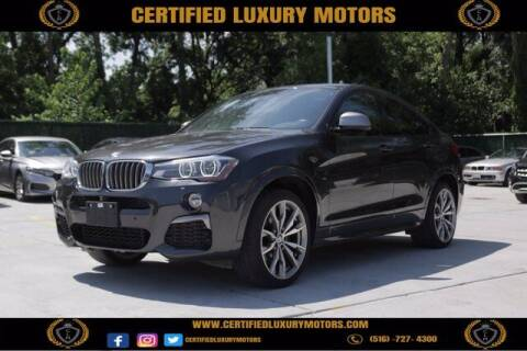 2017 BMW X4 for sale at Certified Luxury Motors in Great Neck NY