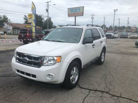 2011 Ford Escape for sale at Neals Auto Sales in Louisville KY