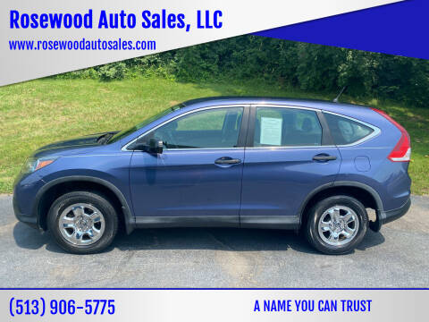 2013 Honda CR-V for sale at Rosewood Auto Sales, LLC in Hamilton OH