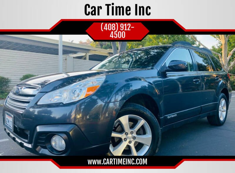 2013 Subaru Outback for sale at Car Time Inc in San Jose CA