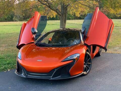 2016 McLaren 650S Spider for sale at Lux Car Sales in South Easton MA