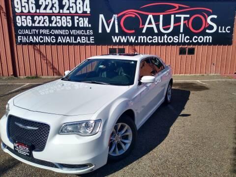 2015 Chrysler 300 for sale at MC Autos LLC in Pharr TX