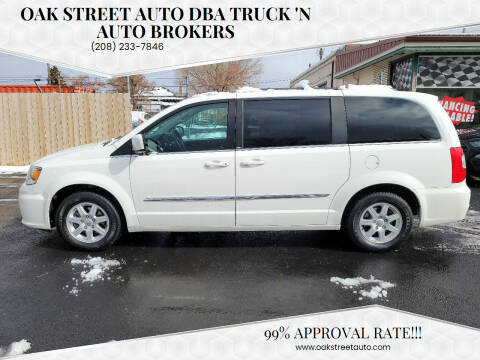 2011 Chrysler Town and Country for sale at Oak Street Auto DBA Truck 'N Auto Brokers in Pocatello ID