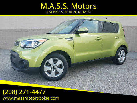 2019 Kia Soul for sale at M.A.S.S. Motors - Emerald in Boise ID