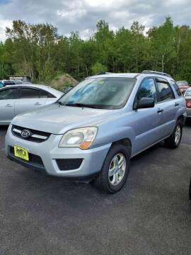 2009 Kia Sportage for sale at Jeff's Sales & Service in Presque Isle ME