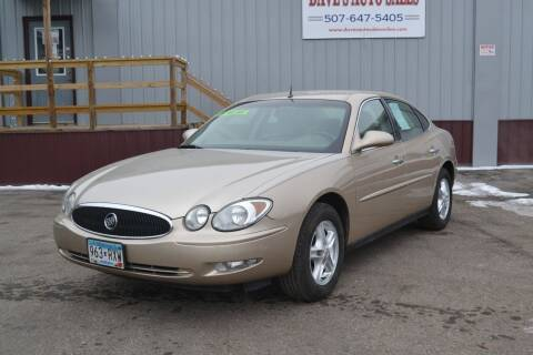 2005 Buick LaCrosse for sale at Dave's Auto Sales in Winthrop MN