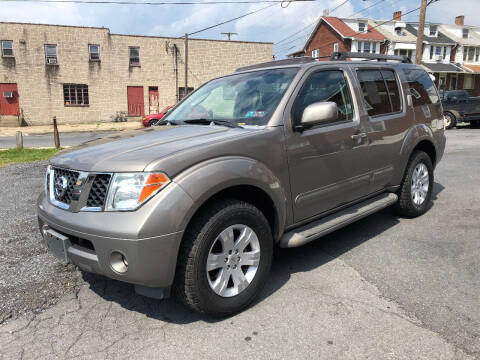 2006 Nissan Pathfinder for sale at Centre City Imports Inc in Reading PA