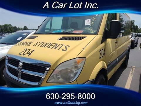 2007 Dodge Sprinter Passenger for sale at A Car Lot Inc. in Addison IL
