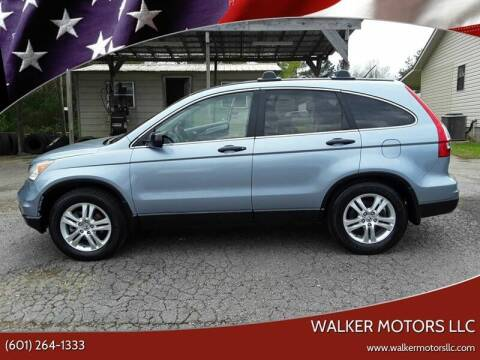 2011 Honda CR-V for sale at WALKER MOTORS LLC in Hattiesburg MS