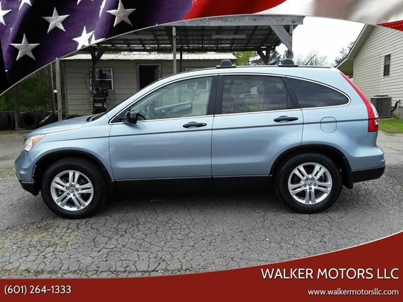 2011 Honda CR-V for sale at WALKER MOTORS LLC in Hattiesburg MS