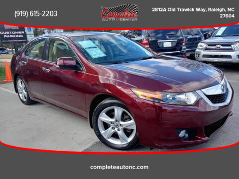 2009 Acura TSX for sale at Complete Auto Center , Inc in Raleigh NC