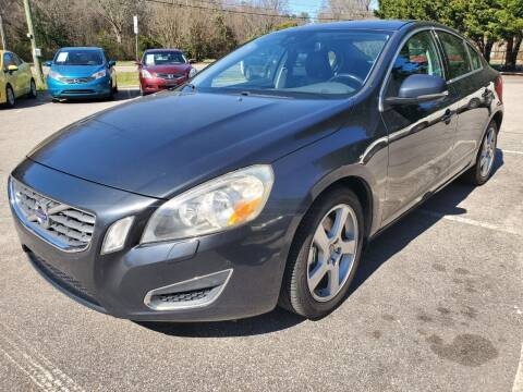2013 Volvo S60 for sale at Carolina Auto Trading in Raleigh NC