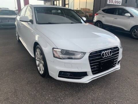 2014 Audi A4 for sale at JQ Motorsports East in Tucson AZ