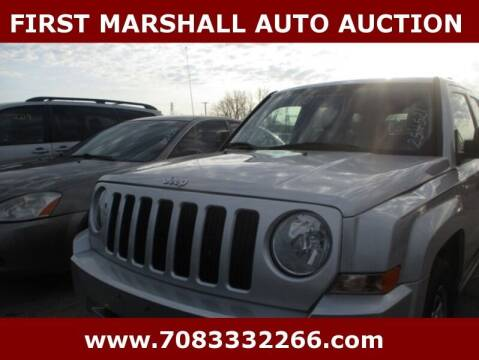 2010 Jeep Patriot for sale at First Marshall Auto Auction in Harvey IL