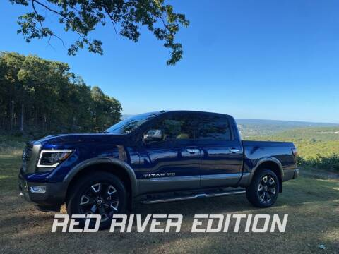 2020 Nissan Titan for sale at RED RIVER DODGE - Red River of Malvern in Malvern AR