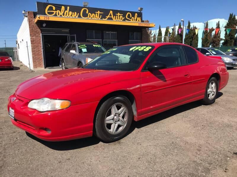 2004 Chevrolet Monte Carlo for sale at Golden Coast Auto Sales in Guadalupe CA