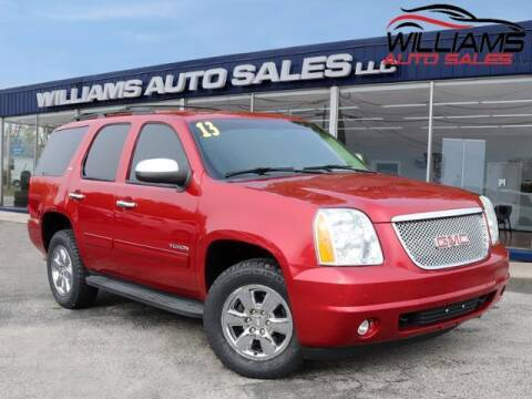 2013 GMC Yukon for sale at Williams Auto Sales, LLC in Cookeville TN