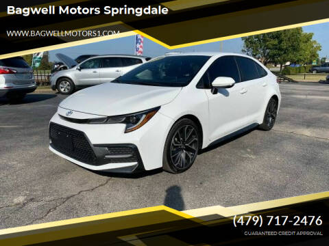 2020 Toyota Corolla for sale at Bagwell Motors Springdale in Springdale AR