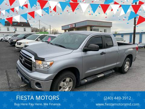 2012 Toyota Tundra for sale at FIESTA MOTORS in Hagerstown MD
