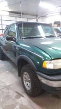 2000 Mazda B-Series Pickup for sale at MITRISIN MOTORS INC in Oskaloosa IA
