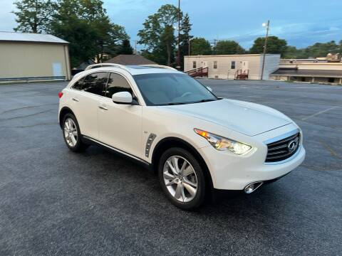 2014 Infiniti QX70 for sale at Jackie's Car Shop in Emigsville PA