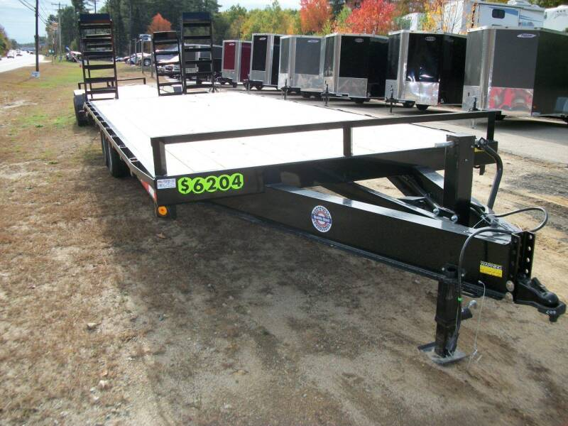 2020 Quality Steel 20+4 Deck Over for sale at Olde Bay RV in Rochester NH